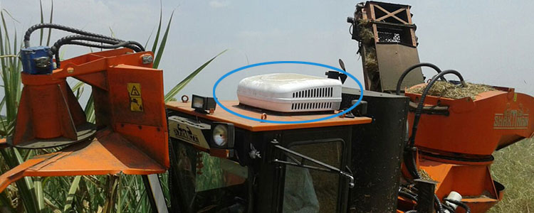 12v 24v agricultural vehicles AC unit